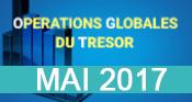 Telecharger Opérations Globales du Trésor Mai 2017