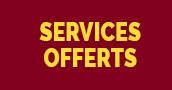 Services offerts pour les projets