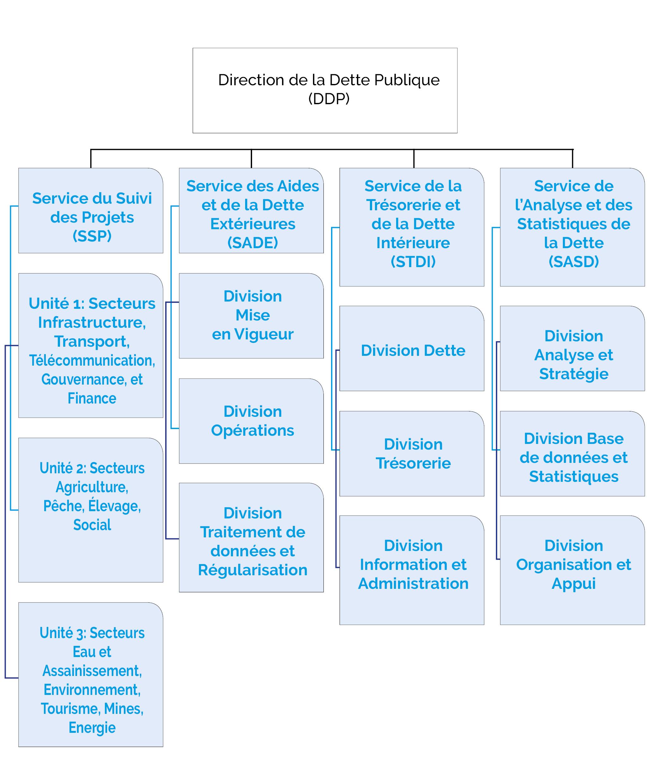 Organigramme DDP
